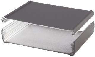 Box Alubos;Al; 138x150x34mm;IP65;Black