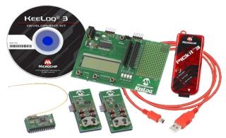 Keeloq 3 Development Kit (with PICkit 3)