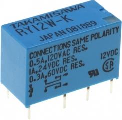 1A/24VDC 2.88KOhm DPDT