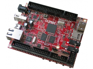 Single-board Linux computer with ALLWINNER A10S CORTEX-A8 at 1GHz