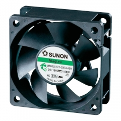 12VDC, 60x60x25mm, 2.4W, 45.87m3/h, 5200RPM