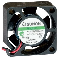 5VDC, 25x25x10mm, 0.43W, 5.1m3/h, 10000RPM  ||  DISCONTINUED