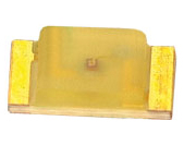 3.2x1.6mm, 3.2-8mcd@20mA, 588nm Yellow, Diffused, 120°
