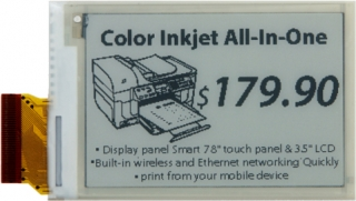 "2,70""E Paper Display,264x176,SPI interface 