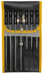 комплект от 7 отвертки за настройка в калъф