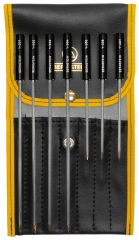 7-piece set adjusting screwdrivers bronze tips