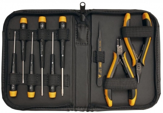 Service Set CARAT with 9 conductive tools