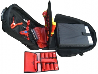 "Backpack VDE Tool Kit ""GLOBETROTTER"" with 36 tools"