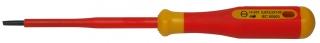 Screwdriver, 100 x 3.5 mm, bicoloured safety insulation