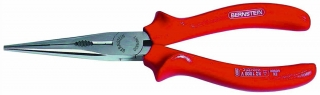 * Telephone pliers, 200 mm, bent, with wire cutter, safety insulation