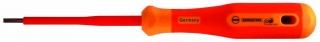 Screwdriver, 100 x 4.0 mm, bicoloured safety insulation