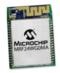 802.11 b/g Wi-Fi Transceiver Module with integrated PCB antenna