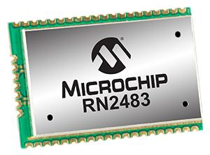 Sub-GHz Dual Band Long Range LoRa™ Module || DISCONTINUED || Alternative: RN2483A-I/RM103
